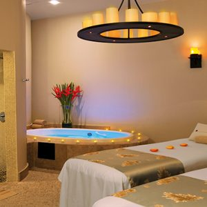 Luxury Mexico Holiday Packages Secrets Maroma Beach Riviera Cancun Couple Spa Treatment Room