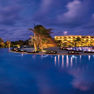 Luxury Mexico Holiday Packages Secrets Maroma Beach Riviera Cancun Infinity Pool