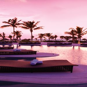 Luxury Mexico Holiday Packages Secrets Maroma Beach Riviera Cancun Sunset