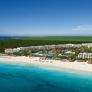 Luxury Mexico Holiday Packages Secrets Maroma Beach Riviera Cancun Aerial View