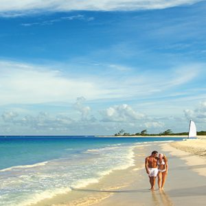 Luxury Mexico Holiday Packages Secrets Maroma Beach Riviera Cancun Couple On Beach
