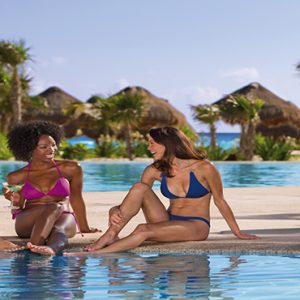 Luxury Mexico Holiday Packages Secrets Maroma Beach Riviera Cancun Guests By Pool