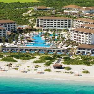 Luxury Mexico Holiday Packages Secrets Playa Mujeres Aerial View