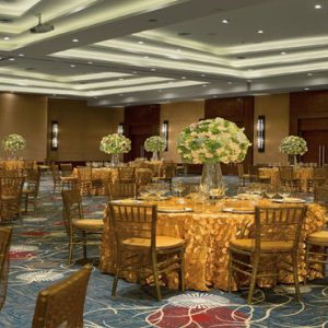 Luxury Mexico Holiday Packages Secrets Playa Mujeres Indoor Wedding Dinner Setup