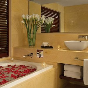 Luxury Mexico Holiday Packages Secrets Playa Mujeres Suite Bathroom