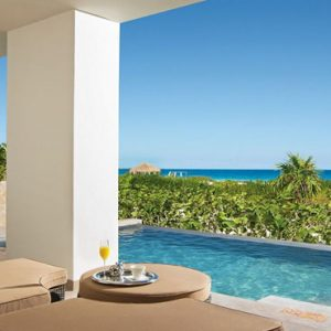 Luxury Mexico Holiday Packages Secrets Playa Mujeres Suite With A View Pool