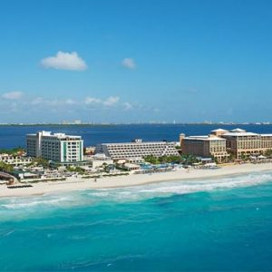 Luxury Mexico Holiday Packages Secrets The Vine Cancun Aerial View