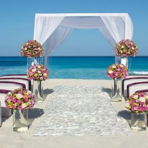 Luxury Mexico Holiday Packages Secrets The Vine Cancun Beach Wedding Theme Setup