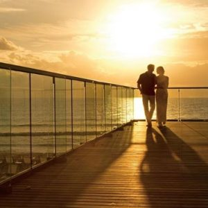 Luxury Mexico Holiday Packages Secrets The Vine Cancun Couple On Bridge
