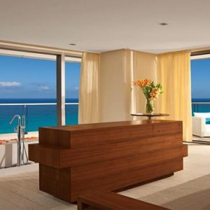 Luxury Mexico Holiday Packages Secrets The Vine Cancun Honeymoon Suite Ocean Front1