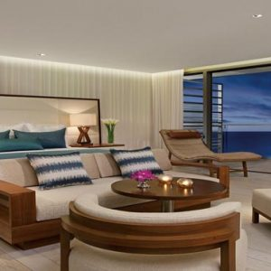 Luxury Mexico Holiday Packages Secrets The Vine Cancun Junior Suite Ocean View At Night
