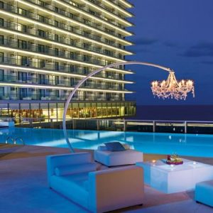 Luxury Mexico Holiday Packages Secrets The Vine Cancun Pool Lounge Party