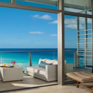 Luxury Mexico Holiday Packages Secrets The Vine Cancun Preferred Club Junior Suite Ocean View Terrace