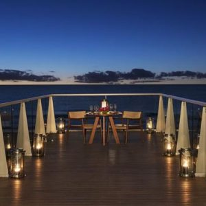 Luxury Mexico Holiday Packages Secrets The Vine Cancun Romantic Dinner On Deck