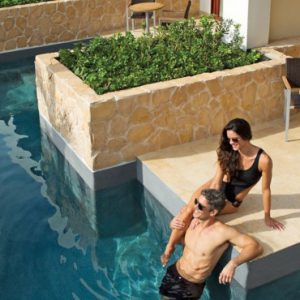 Luxury Mexico Holiday Packages Secrets Playa Mujeres Junior Suite Swim Out1