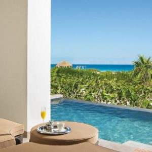 Luxury Mexico Holiday Packages Secrets Playa Mujeres Preferred Club Master Suite Ocean Front Private Pool2