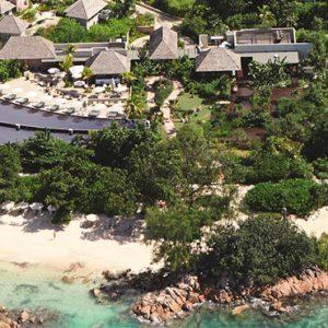 Luxury Seychelles Holidays Raffles Praslin Areial View