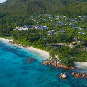 Luxury Seychelles Holidays Raffles Praslin Areial View 2
