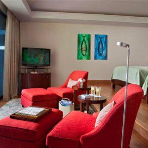 Luxury Seychelles Holidays Raffles Praslin Bedroom