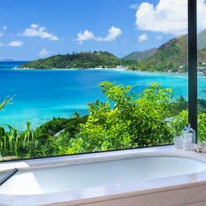 Luxury Seychelles Holidays Raffles Praslin Bath View Copy