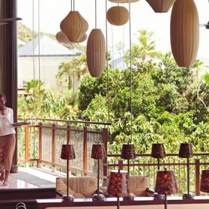 Luxury Seychelles Holidays Raffles Praslin Dining