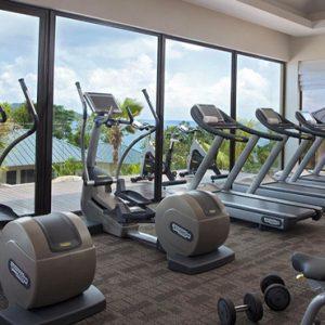 Luxury Seychelles Holidays Raffles Praslin Gym