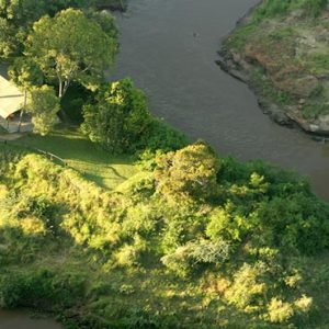 Luxury South Africa Holiday Packages Governors Camp, Kenya Aerial View Of Camp