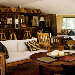 Luxury South Africa Holiday Packages Governors Camp, Kenya Bar Tent