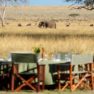 Luxury South Africa Holiday Packages Governors Camp, Kenya Dining In The Safari