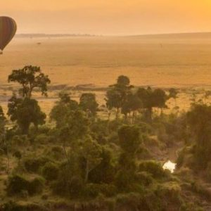 Luxury South Africa Holiday Packages Governors Camp, Kenya Hot Air Balloon At Sunset