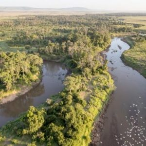 Luxury South Africa Holiday Packages Governors Camp, Kenya Masai Mara Aerial View