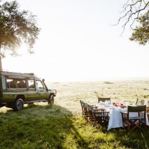 Luxury South Africa Holiday Packages Governors Camp, Kenya Game Drive Dining