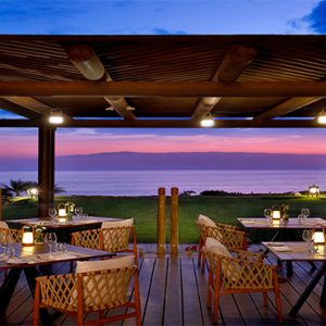 Luxury Tenerife Holiday Packages The Ritz Carlton Abama El Mirador Terrace At Night