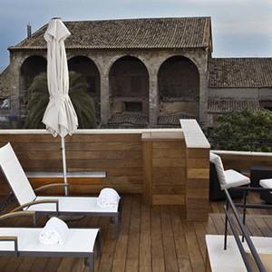 Luxury holidays mallorca - santa clara urban hotel - terrace
