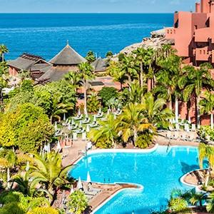 Luxury holidays tenerife - Sheraton La Caleta Resort - aerial