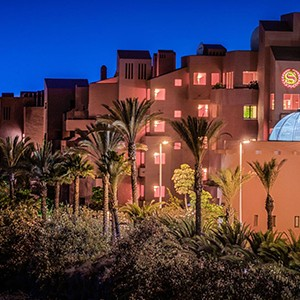 Luxury holidays tenerife - Sheraton La Caleta Resort - exterior night