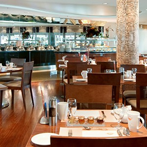 Luxury holidyas barcelona - Hilton Diagonal Mar Barcelona - restaurant
