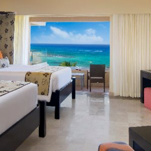 Luxuxry Mexico Holidays Dreams Puerto Aventuras Resort And Spa Family Suite Deluxe Ocean View