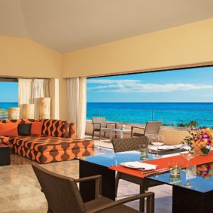 Luxuxry Mexico Holidays Dreams Puerto Aventuras Resort And Spa Living Area