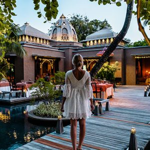 luxury Mauritius holiday Packages Trou Aux Biches Beachcomber Golf Resort And Spa Dining