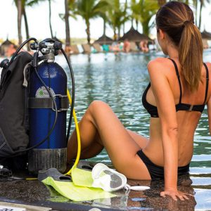 luxury Mauritius holiday Packages Mauricia Beachcomber Resort And Spa Diving