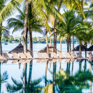 luxury Mauritius holiday Packages Mauricia Beachcomber Resort And Spa Pool 2