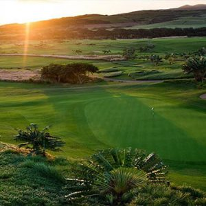 Mauritus holiday Packages Heritage Awali Golf & Spa Resort Sunset View Over The Golf Course