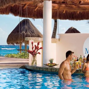 luxury Mexico holiday Packages Dreams Tulum Resort And Spa Mexico Pool Bar