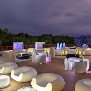 luxury Mexico holiday Packages Paradisus Playa Del Carmen La Perla Gabi Club Lounge