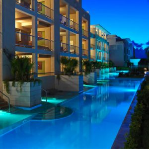 Mexico Honeymoon Packages Paradisus Playa Del Carmen La Perla One Bedroom Master Suite Swim Up 2