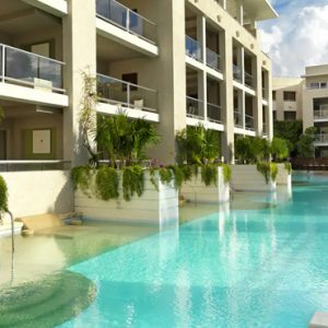 Mexico Honeymoon Packages Paradisus Playa Del Carmen La Perla One Bedroom Master Suite Swim Up 3