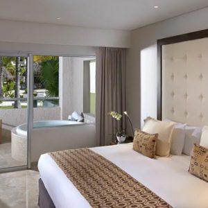 Mexico Honeymoon Packages Paradisus Playa Del Carmen La Perla One Bedroom Master Suite Swim Up 4