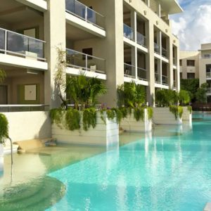 luxury Mexico holiday Packages Paradisus Playa Del Carmen La Perla One Bedroom Swim Up Suite