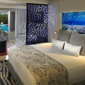 luxury Mexico holiday Packages Paradisus Playa Del Carmen La Perla Royal Service Paradisus Junior Suite Swim Up